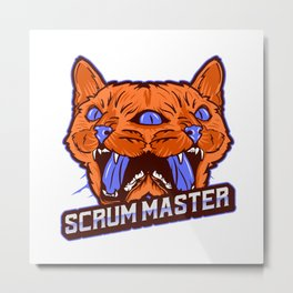 Scrum Master - Solve Problems Metal Print