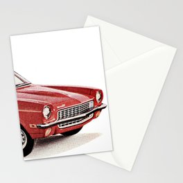 1970's Chevy Vega Stationery Cards