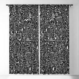 Magic doodles Blackout Curtain