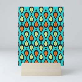 Dance With Me Mid-Century Modern Design Mini Art Print