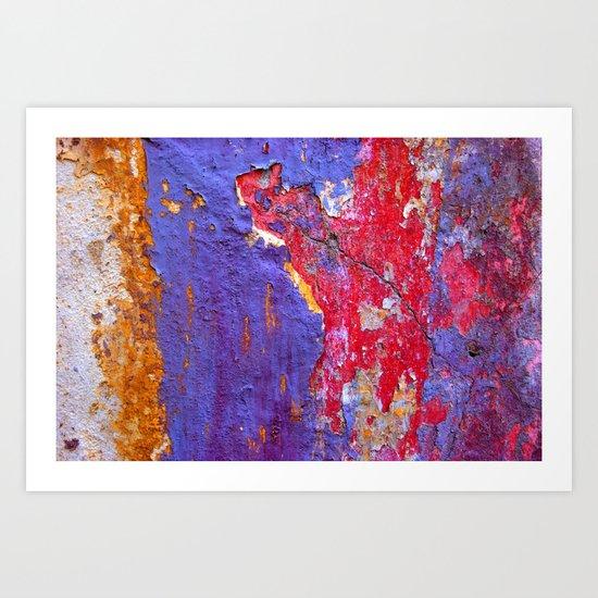 Decay 2 Art Print