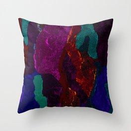Hot Rock Throw Pillow