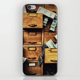 Filing System iPhone Skin