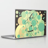 steven universe Laptop & iPad Skins featuring Connie - Steven Universe by HappyQiwi