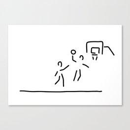 basketball usa basketball player Canvas Print