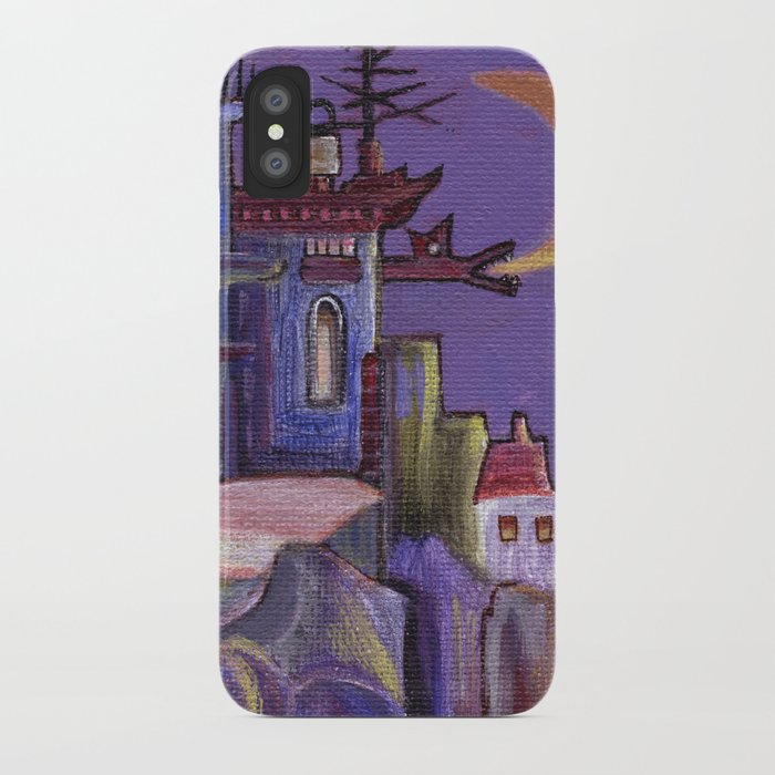 walking out iPhone Case