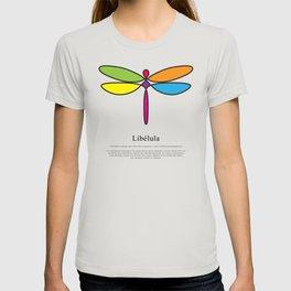 Libélula rainbow T-shirt