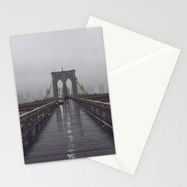 Brooklyn Bridge Fog Stationery Cards