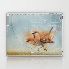 Kathmandu Cinnamon Sparrows Laptop & iPad Skin
