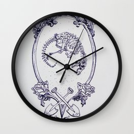 Idiom#3: The Bigger They Are The Harder They Fall Wall Clock