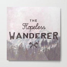 The Hopeless Wanderer Metal Print