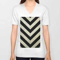 decal V-neck T-shirts featuring Bold by Charlene McCoy
