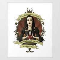 buffy the vampire slayer Art Prints featuring Drusilla - Buffy the Vampire Slayer by muin+staers