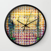 martell Wall Clocks featuring Highly Acidic by G Martell