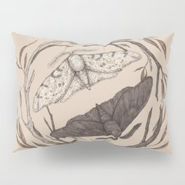 Peppered Moths Pillow Sham