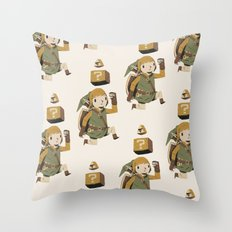 triforce power up Throw Pillow