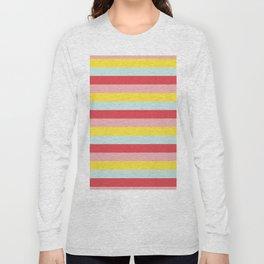 Pastel Stripes Long Sleeve T-shirt