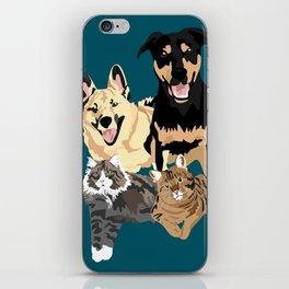 Drogo Bowser Beau and Olli iPhone Skin