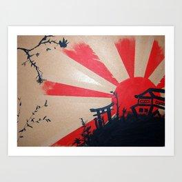 Japan Painting Art Print