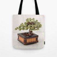 zen Tote Bags featuring Zen by powerpig