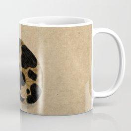 Minhwa: Dozing tricolor cat (Korean traditional/folk art) Coffee Mug