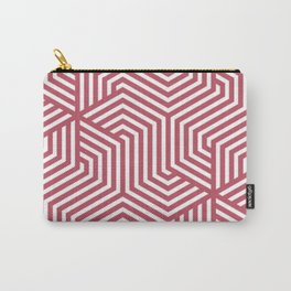 Popstar - pink - Minimal Vector Seamless Pattern Carry-All Pouch