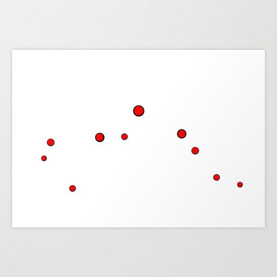 Simply Dots Art Print
