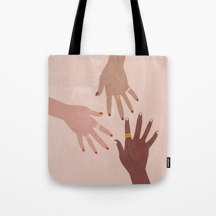 Love Is A Superpower Tote Bag