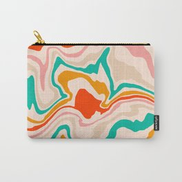Warm abstract marble Carry-All Pouch
