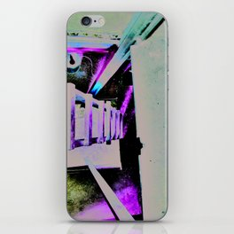 ladder going up or down iPhone Skin
