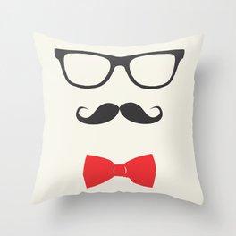 nerdyboy Throw Pillow