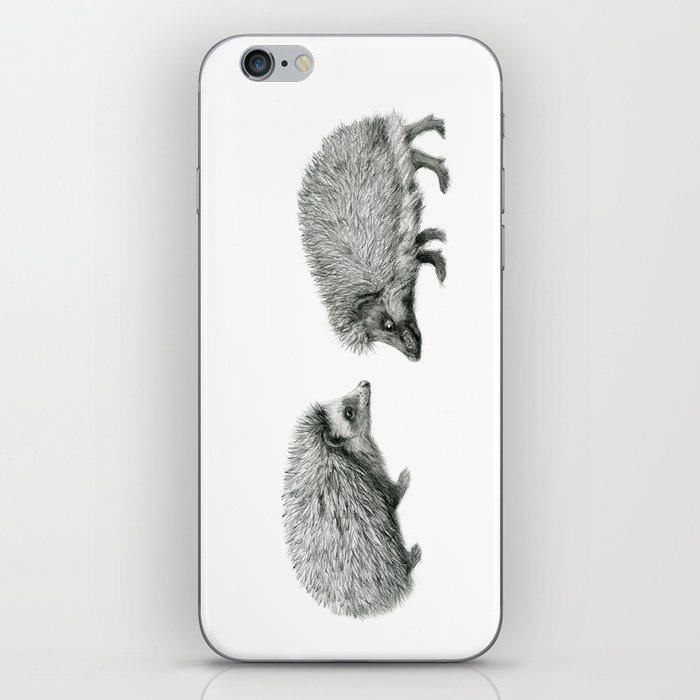 Funny Hedgehog SK050 iPhone Skin