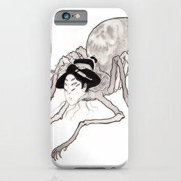 Spider Geisha iPhone Case