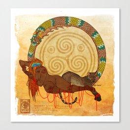 Asima Canvas Print