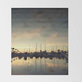 Fading Skies Throw Blanket
