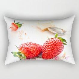 Strawberry Cheescake. Rectangular Pillow