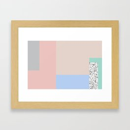 Composition #1 Framed Art Print