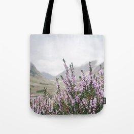 Heather in Glencoe Tote Bag