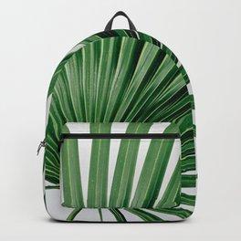Palm Leaf Detail Backpack