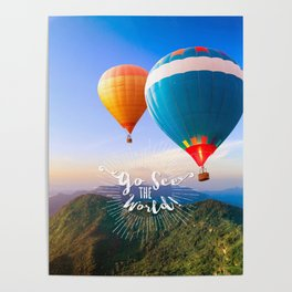 Go See The World Travel Poster