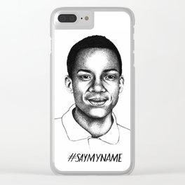 Jordan Edwards Clear iPhone Case
