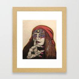 Shhhhhhhhhhh Framed Art Print