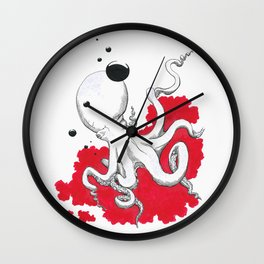 Poulpe / Octopus Wall Clock