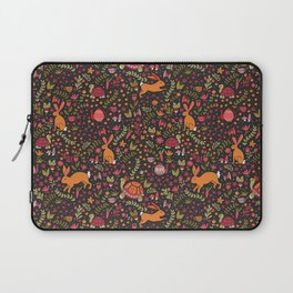 Tortoise and the Hare in Red Laptop Sleeve