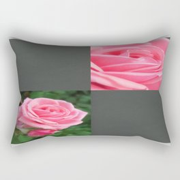Pink Roses in Anzures 2 Blank Q6F0 Rectangular Pillow