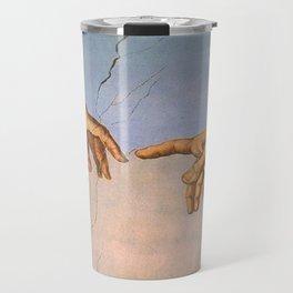 Michelangelo's Creation Travel Mug