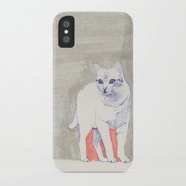 Cat 01 iPhone Case