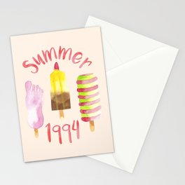 Summer 1994 Stationery Cards