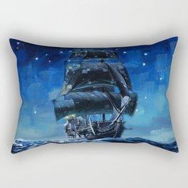 Black Pearl Starry Night Rectangular Pillow