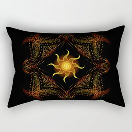 sun energy. part one Rectangular Pillow